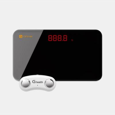 휴대용 체지방측정기 지헬스(일반) + 미니체중계 지그램