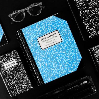 아이스타일 2020 체인저블 다이어리-컴포지션 블루