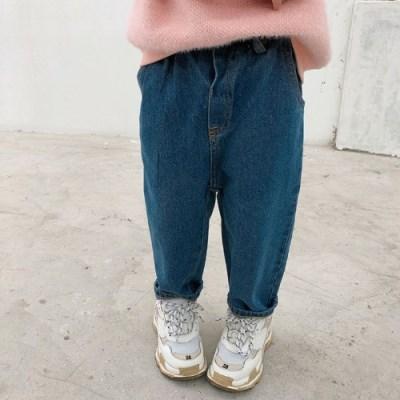 돌핀웨일 인디고블루 데님팬츠(80~120cm)