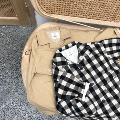 돌핀웨일 로빈카라간절기셔츠자켓(80~130CM)