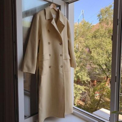 [hand made] 슬릭핸드 coat