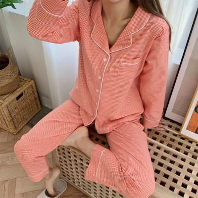 3color 톡톡 체크 파자마 파티 잠옷 홈웨어 (빅사이즈OK)