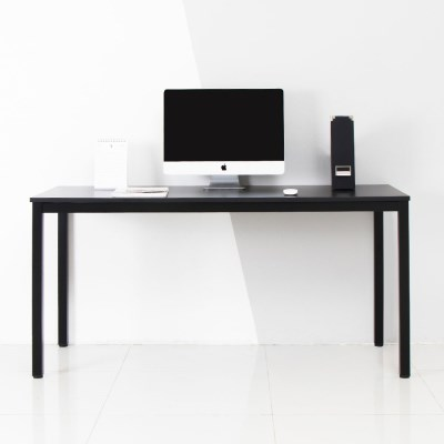 어썸 1500 입식 컴퓨터 책상 블랙 철제 테이블