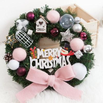핑크리본 볼리스 350Ø(mm)P 트리 크리스마스 TRWGHM_(1527886)