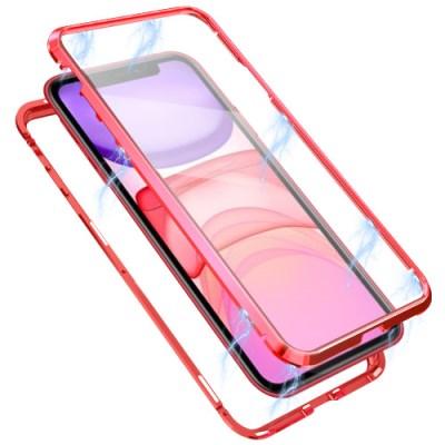 뮤즈캔 아이폰11 360도 전면 마그네틱 풀커버 케이스_(1758134)