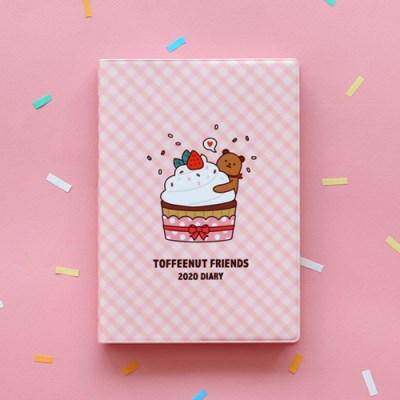 (2020날짜형) TOFFEENUT FRIENDS 2020 DIARY_(904868)