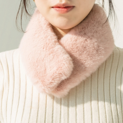 [피치펀치] Fake Fur Muffler S (6 colors)