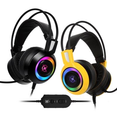 COX 리얼7.1 RGB 게이밍 헤드셋 CH60