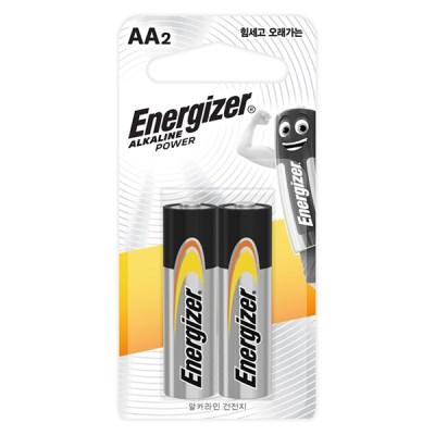 에너자이저 알카라인 건전지 AA/AAA 2입