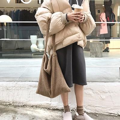 비엔나 따뜻 겨울 양털 숄더백 겨울가방 데일리백_(2268063)