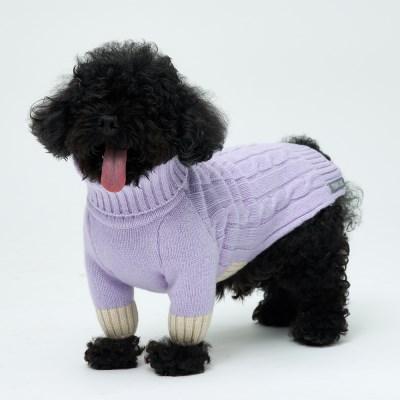 Lavender Cheez Cashmere Knit