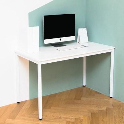 어썸 1200 입식 컴퓨터 책상 화이트 철제 테이블