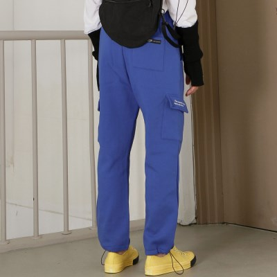 RELAX CARGO PANTS (BLUE)_(401030425)
