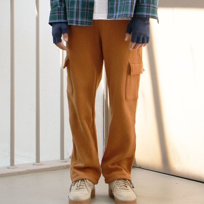 RELAX CARGO PANTS (CAMEL)_(401030424)