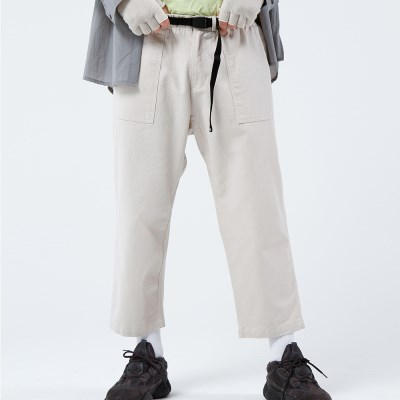 FATIGUE EASY CHINO PANTS (OATMEAL)_(401030281)