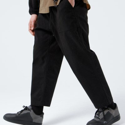 FATIGUE EASY CHINO PANTS (BLACK)_(401030280)