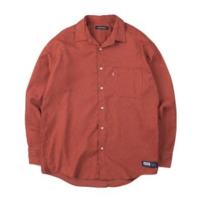 157 솔리드 셔츠 (브릭)_(1172481)