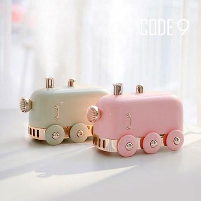 코드나인  LED 무드등 USB 미니 기차 가습기