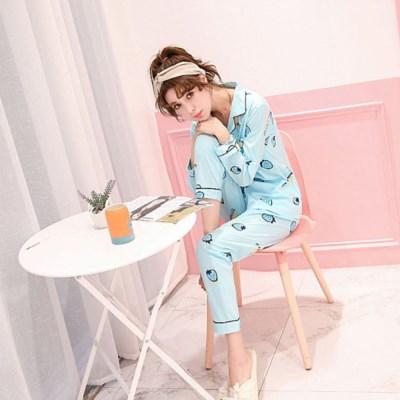딸기잠옷 파자마 홈웨어