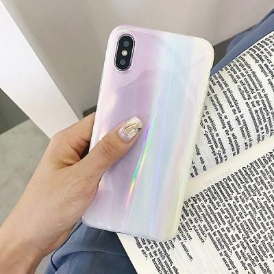 소프트 유광 홀로그램 아이폰 호환 케이스_(1123797)
