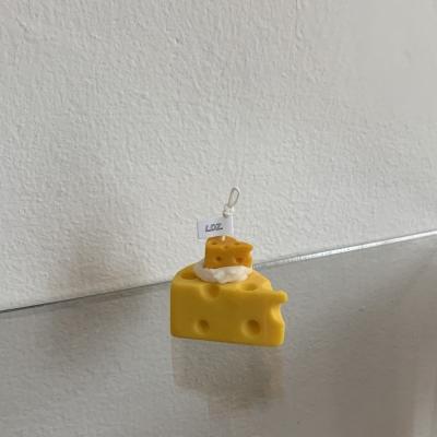 치즈 조각 케이크 캔들 2color 4scent