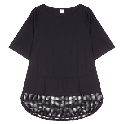 MESH BLOUSE (BLACK)