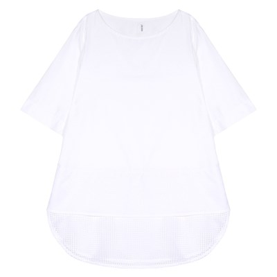 MESH BLOUSE (WHITE)