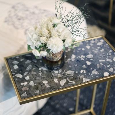 마블 소파 사이드 테이블