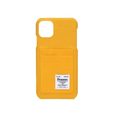 FENNEC C&S iPHONE 11 CARD CASE - YELLOW