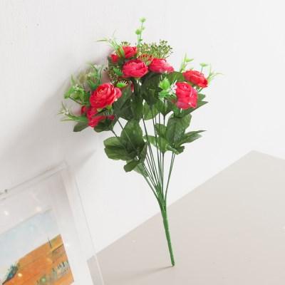 믹스동백부쉬 44cm 조화 성묘 꽃 인테리어 FAGAFT_(1587456)