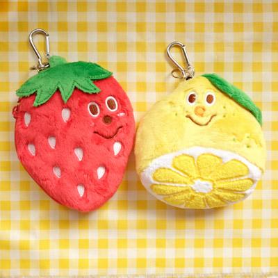 [GLADEE] 그라디 과일 카드케이스 (레몬 or 딸기)