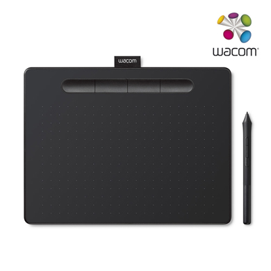 와콤 인튜어스 중형 타블렛 CTL-6100 블랙에디션 USB연결 타입