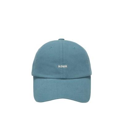 keek 워싱 캡 - Washing blue