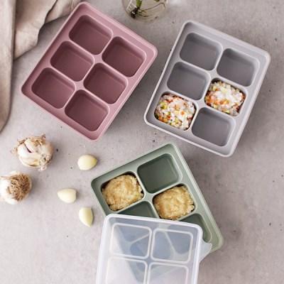 실리콘 다용도 냉동용기 (아이스큐브,얼음틀, 양념소분) ver.1