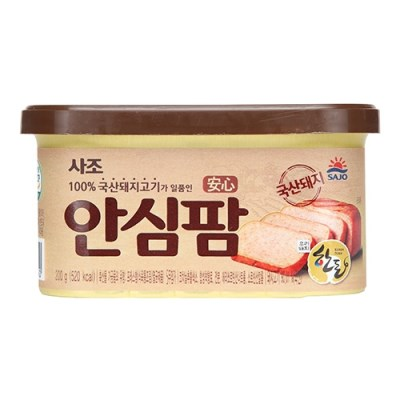 사조 100%국내산돼지고기 안심팜200gx12캔