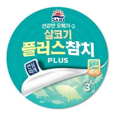 사조 안심따개살코기플러스참치150gx12캔