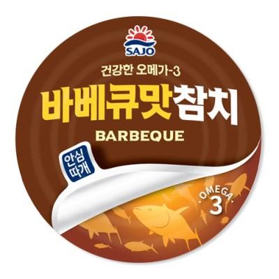 사조 안심따개바베큐참치150gx12캔