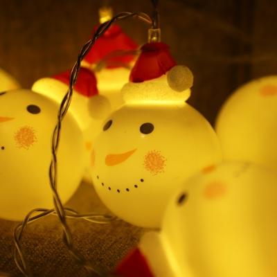[반짝조명] LED 눈사람 가랜드_(1356124)