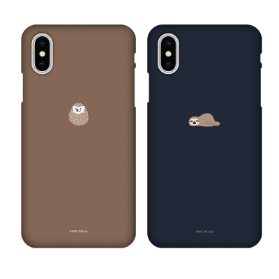 나인어클락 미니동물 하드 슬림핏 케이스 아이폰 시리즈
