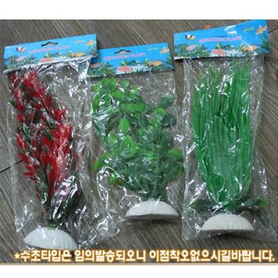 크리스탈 수정석 수초 / 어항 조경 인테리어 소품