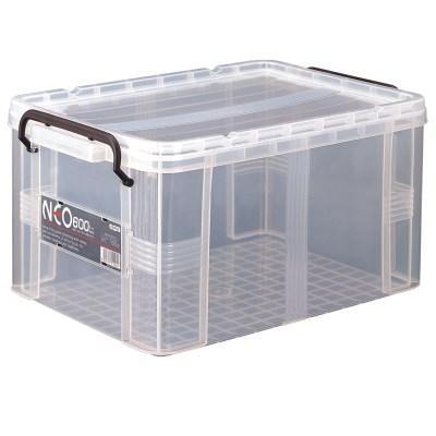 플라스틱 투명상자 리빙박스 옷보관함 네오박스600