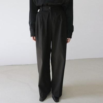 [pants] 와이드 코튼 팬츠_(1375003)