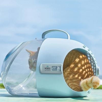 모볼리 고양이 강아지 캡슐 캐리어 이동가방_(1429338)