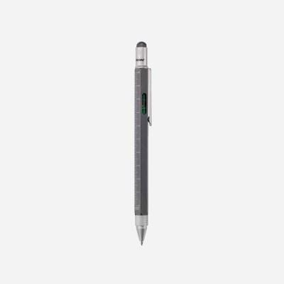 [TROIKA] CONSTRUCTION 멀티태스킹 볼펜 티타늄실버 (PIP20/TI)
