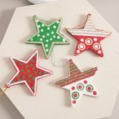 우드스타 10cm 크리스마스 장식 소품 트리 별 TROMCG_(1593122)