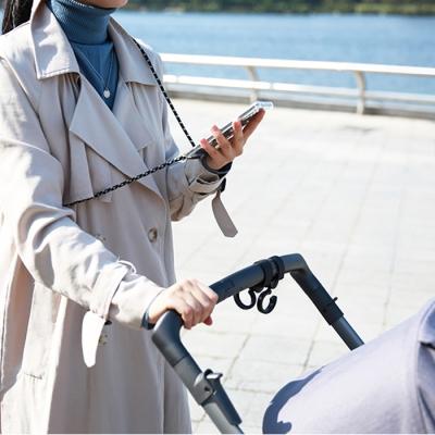 미러 거울 스마트폰 크로스백 핸드폰 목걸이 케이스(crossbag)