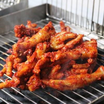 장수불닭발 직화구이 닭발 통뼈닭발 매운맛 250g_(1128663)