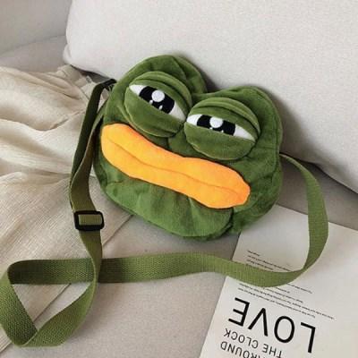 디제이 슬픈개구리 미니 크로스백 캐릭터가방_(2274936)