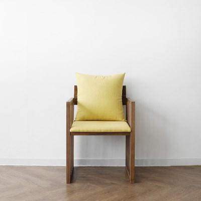 [헤리티지월넛] G1형 의자 옐로우_(1412862)
