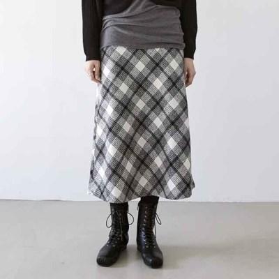 [skirt] 체크 세인트 스커트_(1378267)